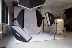Fotostudie i Vanløse til leje